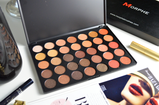 Bảng Phấn Mắt Morphe 350 – 35 Color Nature Glow Eyeshadow Palette